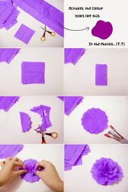 how to make room decorations diy how to make crepe paper flowers for room decoration crepe