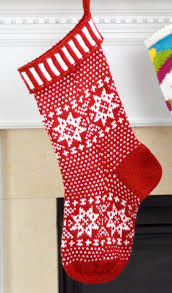 knitting pattern for christmas stocking free holiday decor knitting patterns in the loop knitting