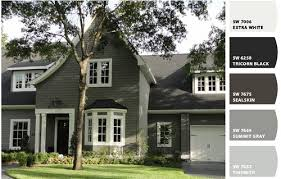 Sherwin Williams White Exterior Paint - exterior paint colors sw extra white swtricorn black sw