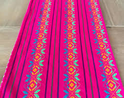 Serape Table Runner Mexican Fiesta Supplies And Handmade Table Linens By Mesachic