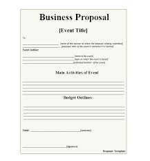 30 business proposal templates u0026 proposal letter samples