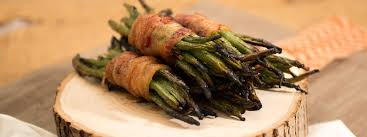 green bean thanksgiving recipes wrapped green beans