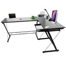 bureau pc portable bateau à partir de us noir bois l forme coin ordinateur de bureau