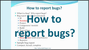 top secret report template how to report bugs effectively with sle bug report