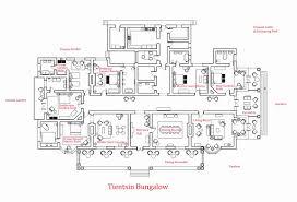 Single Story Bungalow House Open Concept Floor Plans Raised Home