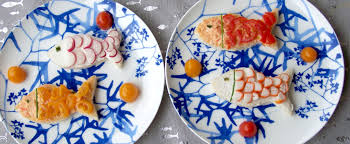 cuisiner avec des enfants mercredi en cuisine avec des enfants assiettes de la mer
