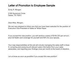 writing cover letter for job promotion a review