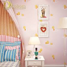 Korean Wallpaper Home Decor Roll Paper Cutter Picture More Detailed Picture About Cozy Pink