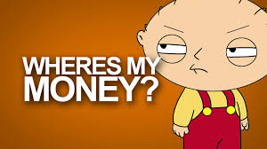Family Guy Stewie Memes - wheres my money family guy typography hd youtube