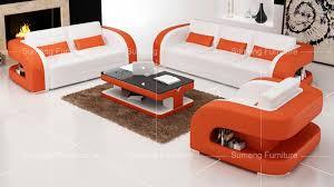 Foshan Latest Home Living Room Leather Sofa Set    Seat - Sofa seat design