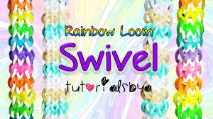Tutorials By A New Reversible Swivel Rainbow Loom Bracelet Tutorial How To