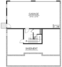 basement garage house plans craftsman style house plan 5 beds 3 00 baths 2615 sq ft plan