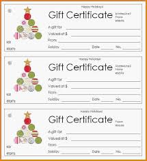 free holiday gift certificate templates 74 samples csat co