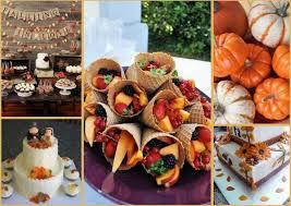 fall bridal shower ideas bridal shower food ideas 99 wedding ideas