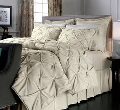 Linen Colored Bedding - vern yip faux linen comforter set