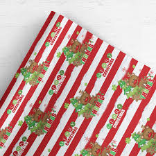 gift wrap christmas personalised custom christmas wrapping paper gift wrap