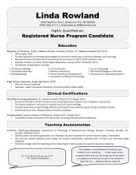 New Graduate Nurse Resume Sample by Experienced Registered Nurse Resume Template Examples