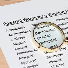 Best Words For Resume by Resume Wording Use Resume Key Words For Resume Writing Success