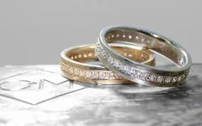 eternity wedding ring cm eternity wedding band with white diamonds chinchar maloney