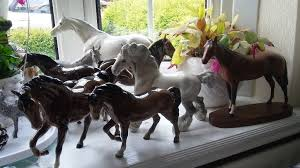 beswick and royal doulton cat ornaments in tamworth