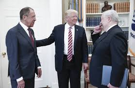 trump in oval office trump shared intelligence secrets with russians in oval office