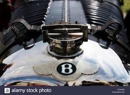 bentley logo vector bentley logo on the hood of a vintage car stock photo royalty