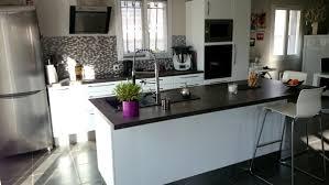 cuisine blanc laqu ikea stunning cuisine blanc laque et gris design clairage at laqu