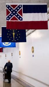 Different Confederate Flags Protest Confederate Symbol On Mississippi Flag Al Jazeera America