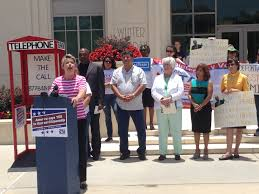 rally held for immigration reform at winter garden city hall