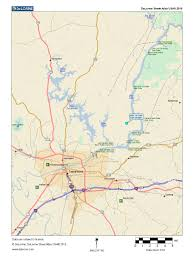 Local Map Black Warrior Development 18 32 Acre Wooded Housesite Reduced