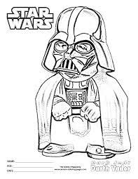 Star Wars Coloring Pages Darth Vader Darth Vader Coloring Pages