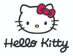 kitty character free illustration vector file logo design