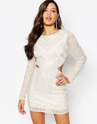 missguided missguided premium cutout waist mini dress