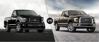 truck ford f150 2015 ford f 150 xl vs f 150 xlt trims