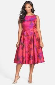 curvy fashion plus size fashion adrianna papell floral jacquard