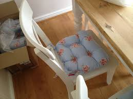 Dining Room Chair Pads Cushions Cheap Kitchen Chair Pads With Ties Photo Gallery Of The The