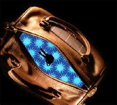 bag with light inside we ve all fumbled around our handbags in search of keys or whatever
