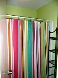 Rugby Stripe Curtains by Striped Shower Curtain Target Shower Curtains At Target Black And