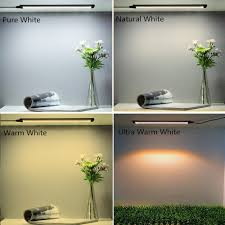 warm white led under cabinet lighting 12inch cri90 smd2835 5w 300lm dimmable led under cabinet light dc 5v