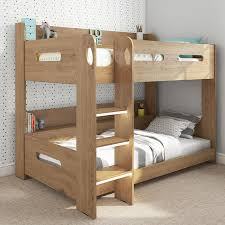 Bunk Bed Ladder Sky Bunk Bed In Oak Ladder Can Be Fitted Either Side Furniture123