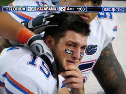 Tebow Meme - tim tebow crying blank template imgflip
