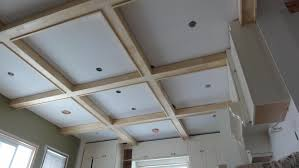 redneck coffered ceiling e2 80 a6 saras house finished room