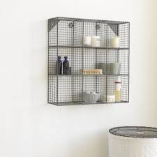 Bathroom Wall Mounted Shelves Wall Shelves Design Bathroom Wall Shelving Units In Espresso Wall