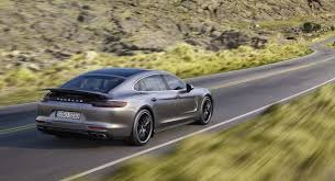 porsche panamera 2017 2017 porsche panamera base model revealed gets new v6 twin turbo