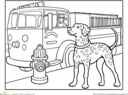 dalmatian worksheet education