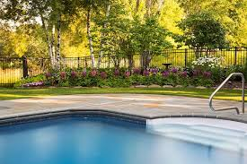 swimming pool landscape in st paul mn is award winning southview