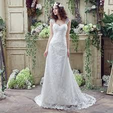 Aliexpress Com Buy Lamya Vintage Sweatheart Lace Bride Gown Online Get Cheap Vintage A Line Wedding Dress Aliexpress Com