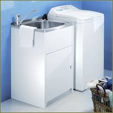 utility laundry sink with cabinet home design ideas