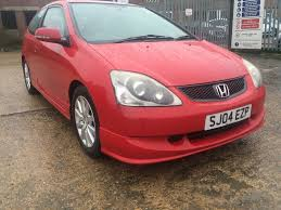 used honda civic hatchback 1 6 i vtec sport hatchback 3dr in luton