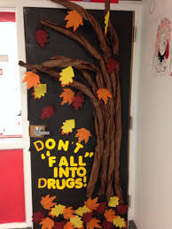 don u0027t fall into drugs door decoration for red ribbon week drug